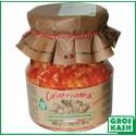 Creme de piment a l'Ail avec huile d'olives 314 ML kasher lepessah