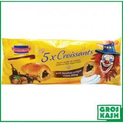 5 Croissants Fourres creme Noisette sachet 240 G kasher parve RABBI HOD