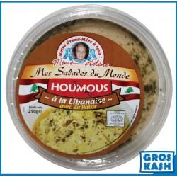 Houmous à la Libanaise avec Za'Hatar MH 250 G kasher