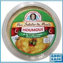 Houmous à la Tunisienne épicé à l'Harissa 250 G kasher