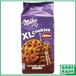 Milka XL Cookies Choco 184 G kasher RABBI HOD