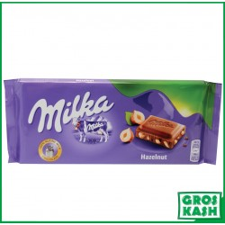 Milka Barre Noisette Hazelnuts 100 G kasher HALAVIE RABBI HOD