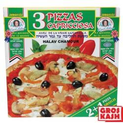Pizza Capricioza kasher 2+1 Gratuit Halav Israel 900gr RAV ELMALEH DE MILAN