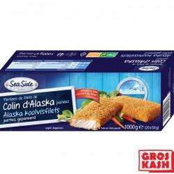 Colin d'Alaska panés en tranches kasher lepessah 1kg RABBI HOD