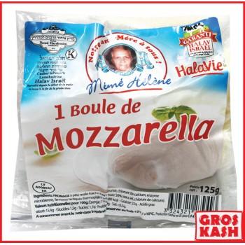 Boule de Mozzarella 125 gr HALAV ISRAEL KASH BADATZ HIHOUD