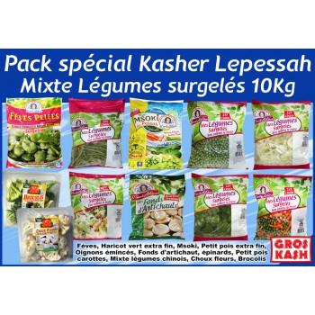 Pack mixte de legumes surgeles 10 Kg