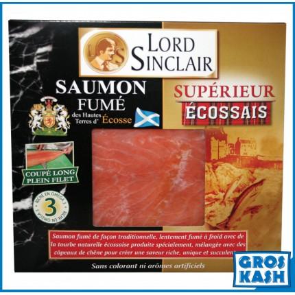 Saumon Superieur Ecossais L/S 200 G kasher lepessah MANCHESTER BETH DIN