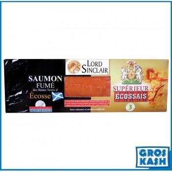 Saumon Superieur Ecossais L/S 800 G kasher lepessah MANCHESTER BETH DIN