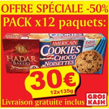 12 Paquets De Cookies...