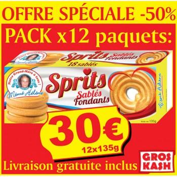 12 Paquets De Spritz Casher...