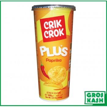 Crik Crok plus Paprika tube 100gr kosher lepessah