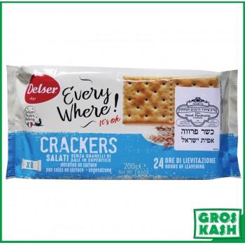 Crackers Italien non salés 200gr kasher BADATZ IHOUD HARABANIM