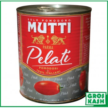 Tomate Pelee MUTTI 800gr kasher lepessah