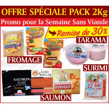 OFFRE SPECIALE 2Kg SEMAINE...