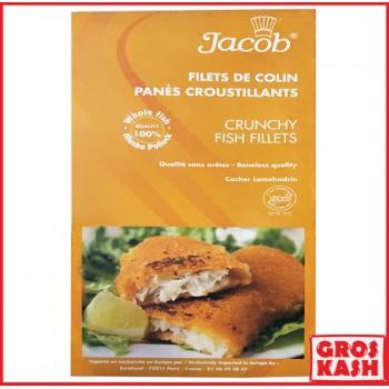 FILET DE COLIN PANÉ «JACOB»...