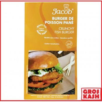 Burger de Poisson Pané...