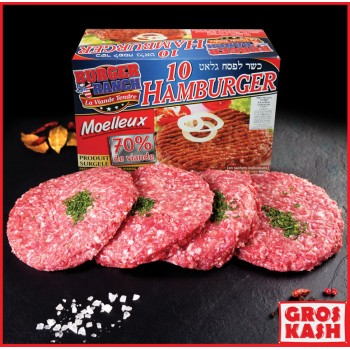 Hamburger Burger Ranch 800 gr Glatt Shritta Loubawitch Badatz IHOUD