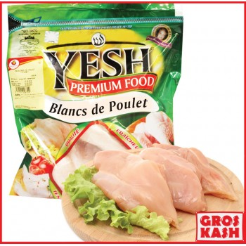 Blanc de poulet 1kg  YESH IQF shritta loubawitch