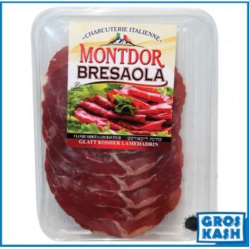 Bresaola MONTDOR la Qualité Supérieur Italie 80g kasher lepessah