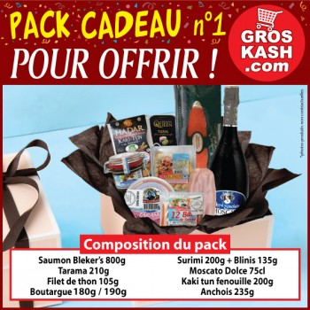 Pack Spécial «Cadeau pour offrir» version 1