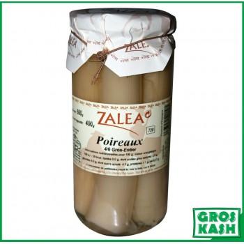 Blanc de Poireaux entiers en bocaux 720ml kasher le pessah