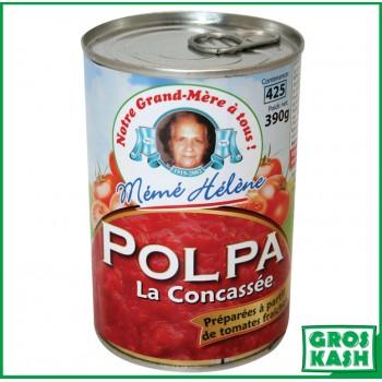 POLPA Tomates Concassées 390g casher le pessah BADATZ IHOUD
