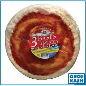 3 Bases à Pizza Surgelés...