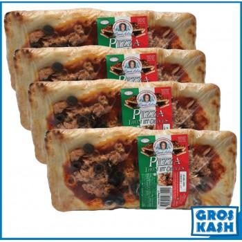 4 Pizzas rectangles au thon...