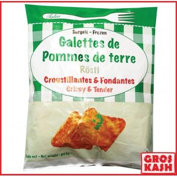 Galettes de pommes de terre...