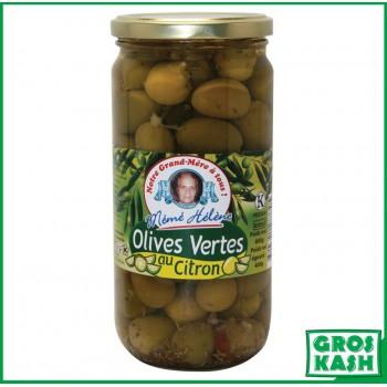 Olives Vertes au Citron...