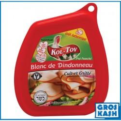 Blanc de Dindoneau grillé 300 G kasher lepessah RABBINAT D'ISRAEL MATÉ ASHER