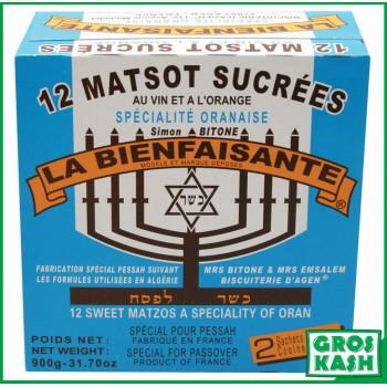 Matsot sucrées l'Oranaise...