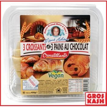 3 Croissants + 3 Pains au...
