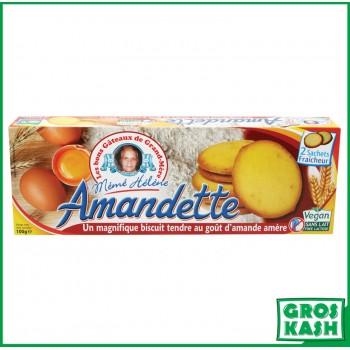 Amandette biscuit amande 100g kasher IHOUD RABANIM