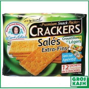 Crackers extra-fin salés 486g