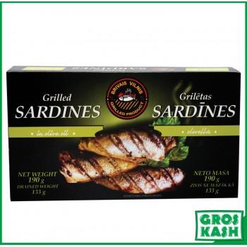 SARDINE GRILLÉE 190g Casher OU