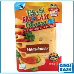 Maasdamer Slice 150 G kasher lepessah Badatz BETH YOSSEF