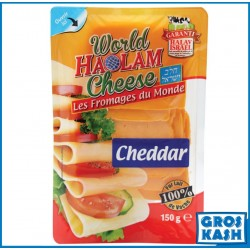 Cheddar Slice 150 G kasher lepessah Badatz BETH YOSSEF