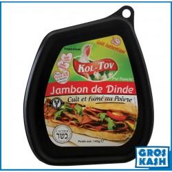 Jambon Dinde au Poivre 140gr kasher lepessah RABBINAT D'ISRAEL MATÉ ASHER