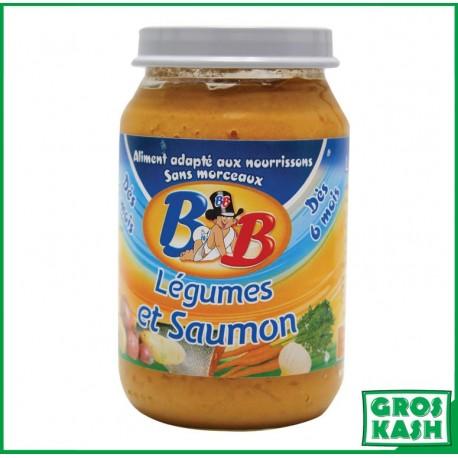 Petits Pots Bébé Saumon Legumes LOUB 200gr kosher lepessah RAV WOLFF