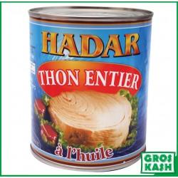 Hadar Thon à la'Huile 800gr kosher lepessah WOLFF ET BADATZ