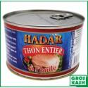 Hadar Thon à la'Huile 400gr kosher lepessah WOLFF ET BADATZ
