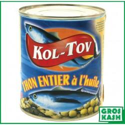 Kol-Tov Thon à la'Huile 800gr kosher lepessah WOLFF ET BADATZ