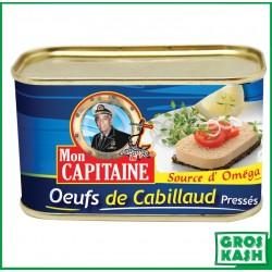 Oeufs de Cabillaud 55 % MON CAPITAINE 200gr kosher lepessah RABBI HOD