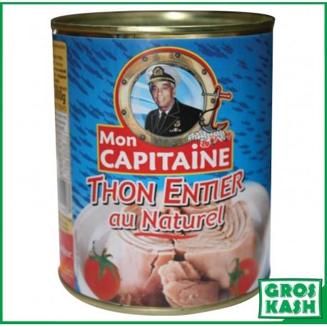 Mon Capitaine Thon Naturel 800gr kosher lepessah WOLFF ET BADATZ