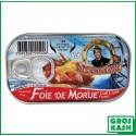 Foie de Morue MON CAPITAINE 120gr kosher lepessah RABBI HOD