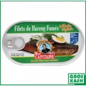 Filet de Harengs fumé Huile 190gr kosher lepessah RABBI HOD