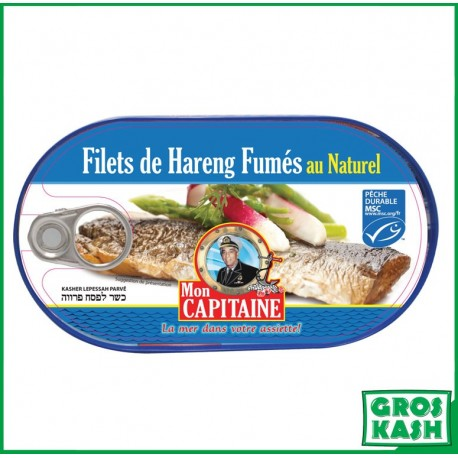 Filet de Harengs Naturel 190gr kosher lepessah RABBI HOD