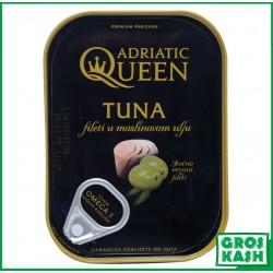 Filets de Thon à l'Huile d'Olive 105gr kosher lepessah HOD ET BADATZ