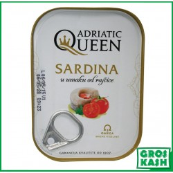 Sardines à la Tomate 105gr kasher HOD ET BADATZ
